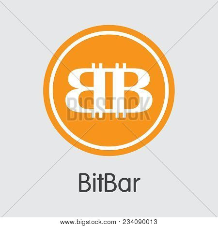 Bitbar Blockchain Pictogram Symbol. Blockchain, Block Distribution Xbl Transaction Icon