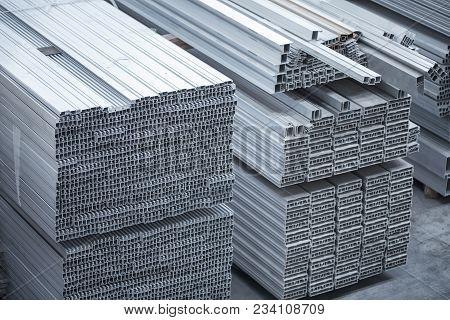 Aluminium Profiles For Constructions. Aluminum Constructions Factory.