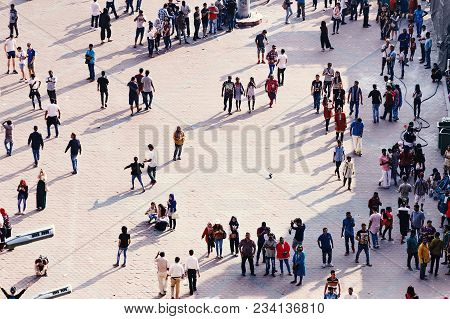 Kuala Lumpur, Malaysia, 2018-02-16: City Square With Daily Life - People Crowd To Spend Free Time, I