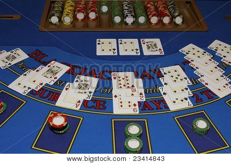 Casino - Blackjack Table