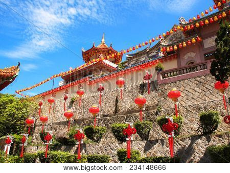 Buddhist temple Kek Lok Si  (The Temple of Supreme Bliss), Georgetown, Penang island, Malaysia