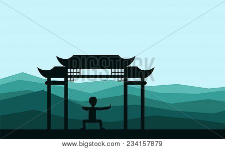 Man Performing Qigong Vector & Photo (Free Trial) | Bigstock