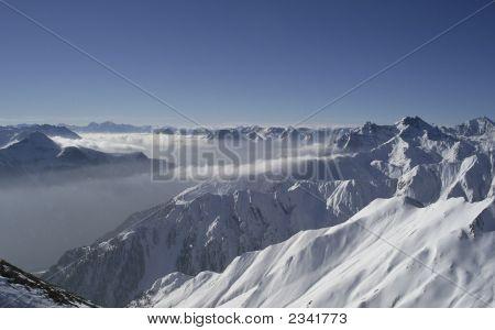 Alpine Winter Panorama