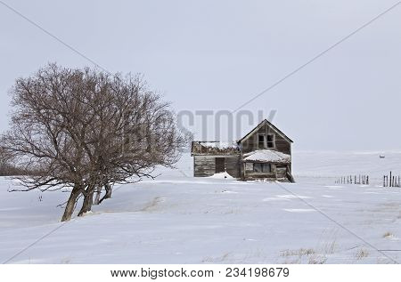 Abandoned Country Farm