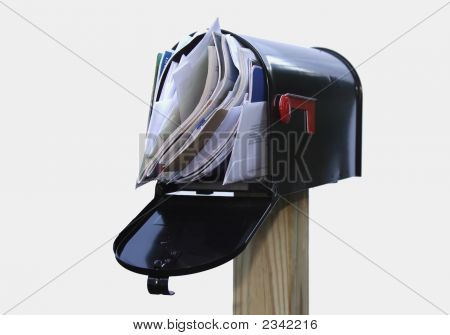 Over-Stuffed Mail Box
