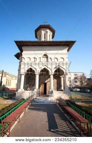 Romanian Orthodox Church From Bucharest, Wide Picture