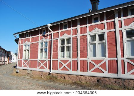 Restored Wooden House Traditional For Western Finland
