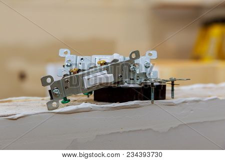 Repairing Household Power, Faulty Wall Switch Light, Changing A Installing New Light Switch