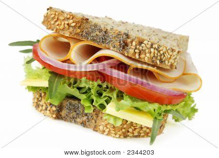 Chicken And Salad Sandwich