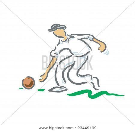 Bowls Player
