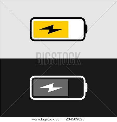 Battery Charging Icon Vector Photo Free Trial Bigstock