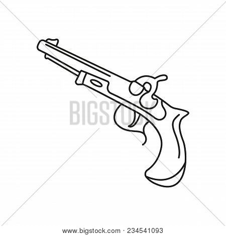 flintlock pistol images illustrations vectors free bigstock 7.62X25 Carbine pirate pistol icon outline pirate pistol vector icon for web design isolated on white background vintage antique flintlock