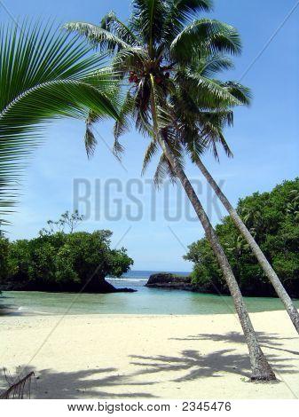 Beach Scene, Samoa North Shore