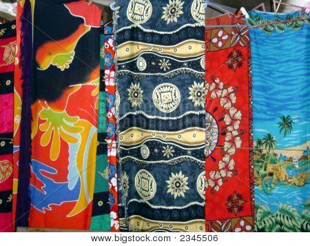 Colourful Cloth, Apia Market