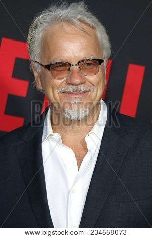 Tim Robbins at the Los Angeles premiere of 'Blockers' held at the Regency Village Theatre in Westwood, USA on April 3, 2018.