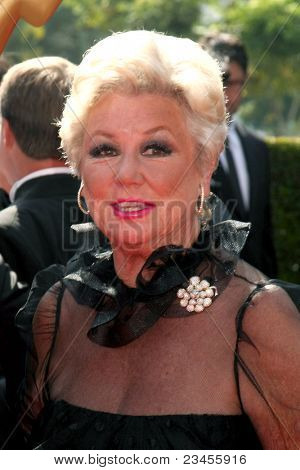 LOS ANGELES - SEPT 10:  Mitzi Gaynor arriving at the Creative Primetime Emmy Awards Arrivals at Nokia Theater on September 10, 2011 in Los Angeles, CA