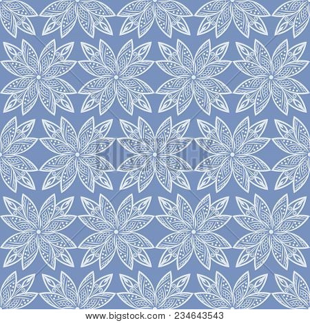 Islamic Pattern. Arabic, Indian, Japanese Motifs. Mandala Seamless Pattern. Ethnic Bohemian Backgrou