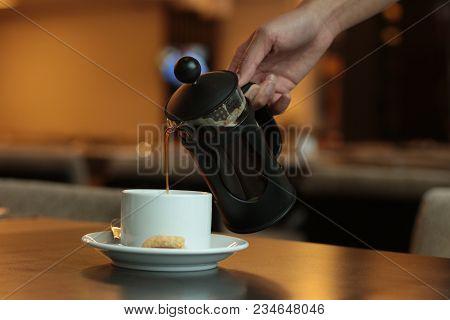 Coffee Pooring Black Restaurant Yummy Hmmm Nice