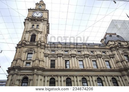 View Of The Iconic General Post Office, Built In Renaissance Revival Style Between 1860 And 1907, In