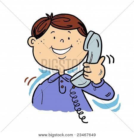 Man On The Phone.