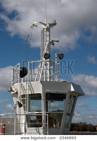Small Ferry Control Bridge