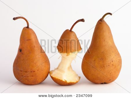 Two Pears And One
