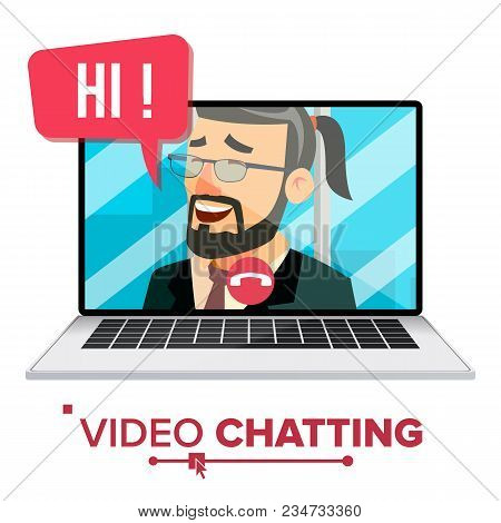 Chatting Vector. Chat Message. Technology Communicate. Bubble Speeches Messages. Isolated Cartoon Il