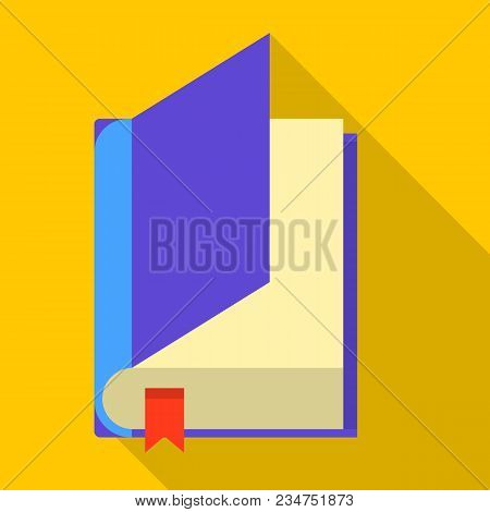 Dictionary Icon. Flat Illustration Of Dictionary Vector Icon For Web