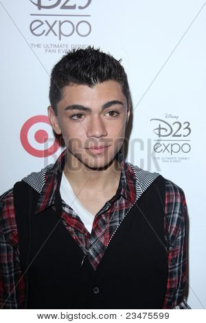 LOS ANGELES - AUG 21:  Adam Irigoyen at the D23 Expo 2011 at the Anaheim Convention Center on August 21, 2011 in Anaheim, CA