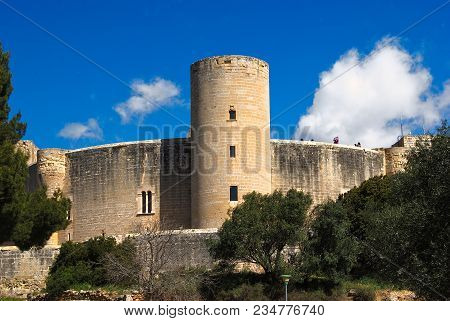 Bellver Castle In Palma, Majorca, Balearic Islands, Spain