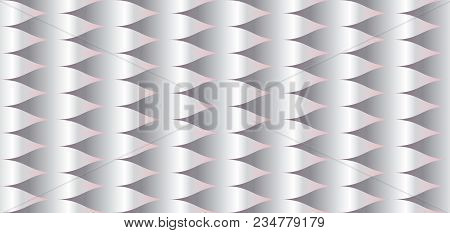 Water Texture Abstract Geometric Seamless Pattern. Pastel Color Decorative Repeatable Background. St