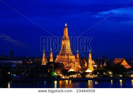 Thai temple, Wat Arun.