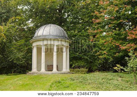 The Historic Rotunda, Built In Georgian Times In Bushy Park, Teddington In London.  Originally Part
