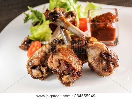 crisp duck confit