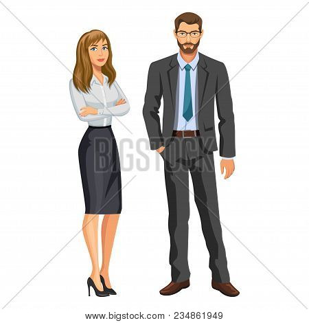Man Business Suit Vector Photo Free Trial Bigstock