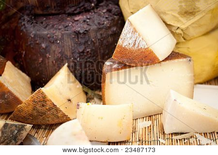 Cheese At A Market