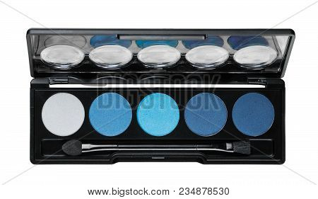 Blue Eye Eyeshadow Shadow Palette Green Color