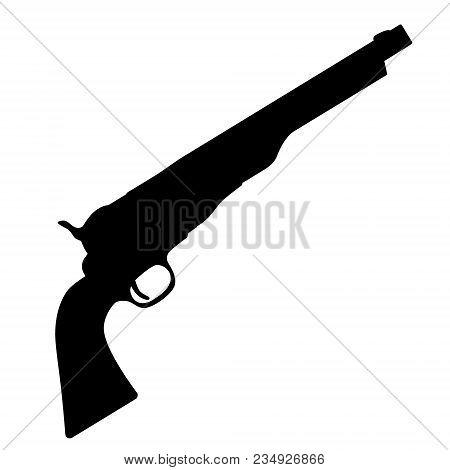 Revolver Weapon Vector