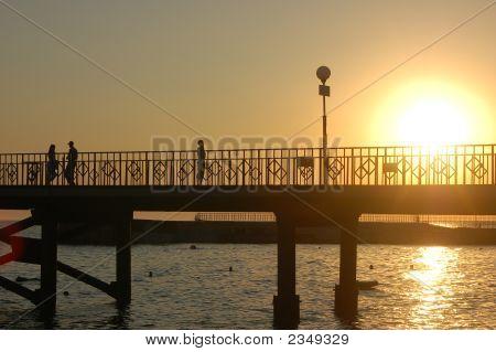 Bridge And Sunrise