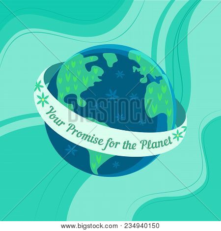 Mother Earth Day Vector Photo Free Trial Bigstock