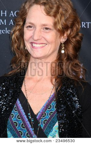 LOS ANGELES - SEP 17:  Melissa Leo arrives at the 9th Annual BAFTA Los Angeles TV Tea Party. at L'Ermitage Beverly Hills Hotel on September 17, 2011 in Beverly Hills, CA