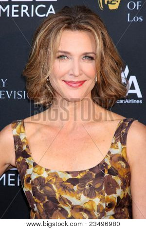 LOS ANGELES - SEP 17:  Brenda Strong arrives at the 9th Annual BAFTA Los Angeles TV Tea Party. at L'Ermitage Beverly Hills Hotel on September 17, 2011 in Beverly Hills, CA