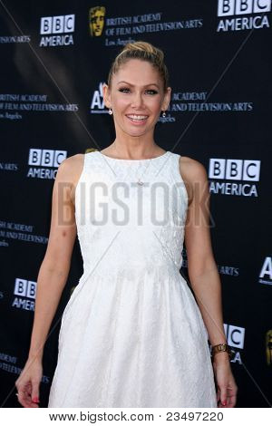 LOS ANGELES - SEP 17:  Kym Johnson arrives at the 9th Annual BAFTA Los Angeles TV Tea Party. at L'Ermitage Beverly Hills Hotel on September 17, 2011 in Beverly Hills, CA