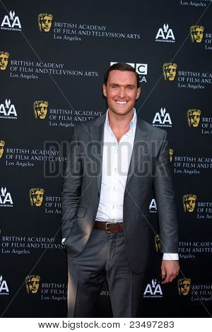 LOS ANGELES - SEP 17:  Owain Yeoman arrives at the 9th Annual BAFTA Los Angeles TV Tea Party. at L'Ermitage Beverly Hills Hotel on September 17, 2011 in Beverly Hills, CA