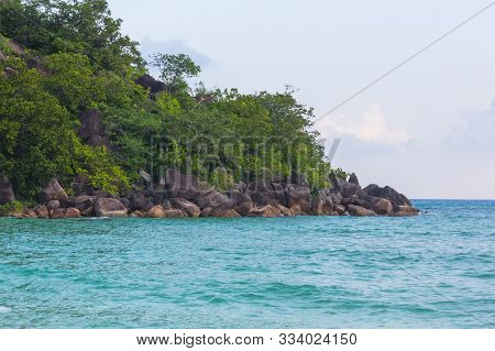 The Small Island In The Indian Ocean