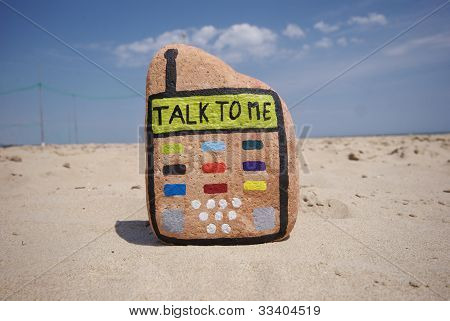 talk to me on stone mobile phone