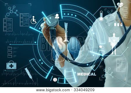 Medicine And Innovation Concept