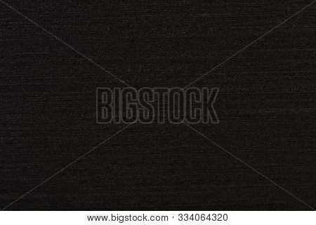 New Ebony Veneer Background In Black Color For Your Exterior View. High Quality Wooden Texture.