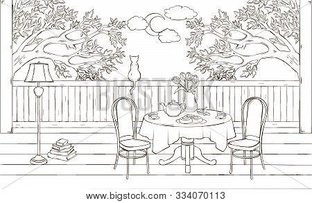 Beautiful Sketch Vector & Photo (Free Trial) | Bigstock on