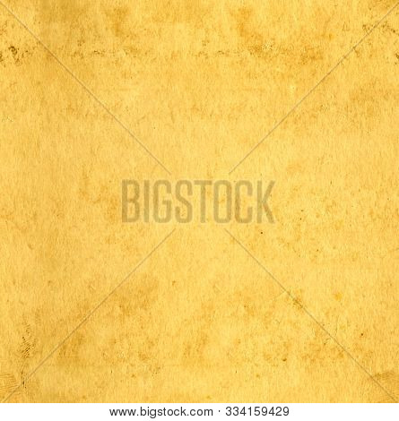 Seamless texture of the old soiled paper of yellow color. Endless texture can be used for wallpaper, pattern fills, web page background, surface textures